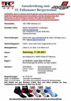 15. Falkenauer Bergcrosslauf